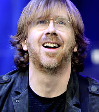 Phish's Trey Anastasio