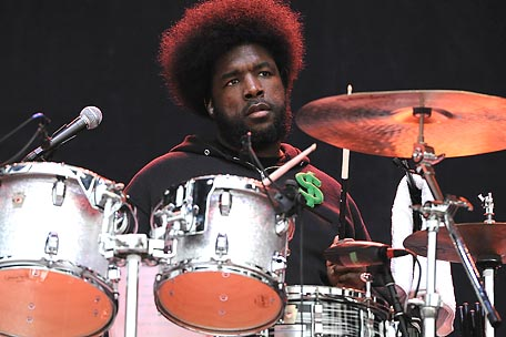 Questlove of the Roots performs at Bonnaroo