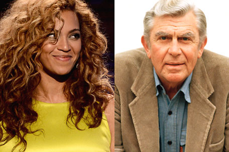 Beyonce Andy Griffith