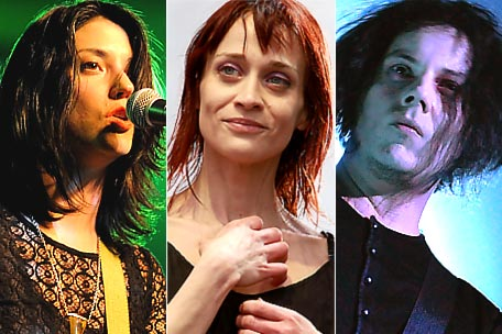 Sharon Van Etten, Fiona Apple, Jack White