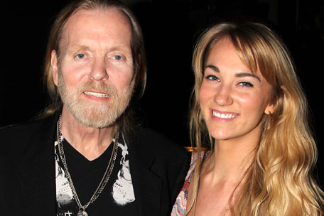 Gregg Allman and Shannon Williams