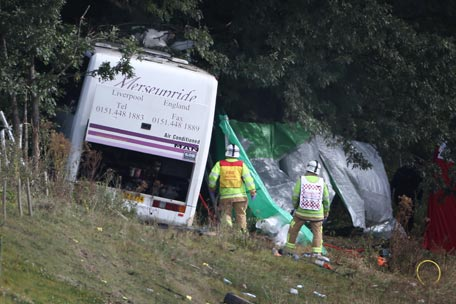 Bestival Bus Crash