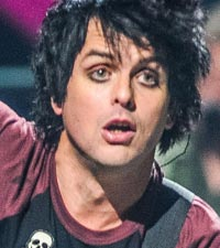 Green Day's Billie Joe Armstrong onstage before his meltdown