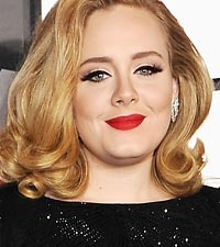 Adele Billboard artist of 2012