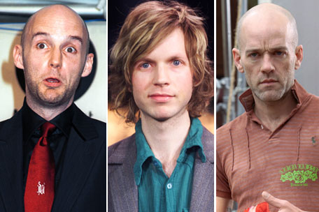 Moby Beck Michael Stipe R.E.M.