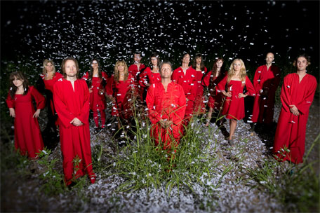 polyphonic spree let it snow