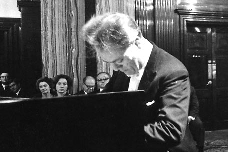 Pianist Charles Rosen, who died Sunday, Dec. 9