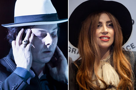 Jack White Lady Gaga