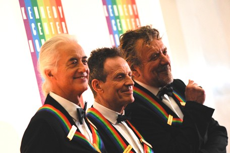 led zeppelin kennedy center honors