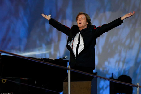 Paul McCartney 2012 London Olympics