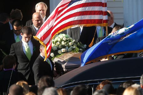 The funeral of Sandy Hook teacher Victoria Soto
