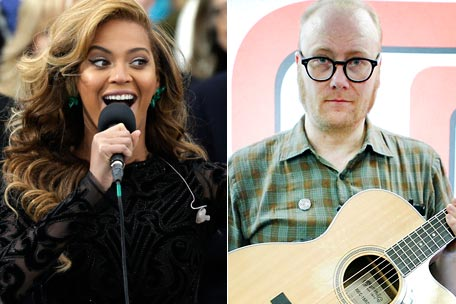 Beyonce Lip-Synching Mike Doughty