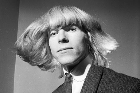 David Bowie, aka Davy Jones, in 1965