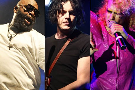 Rick Ross, Jack White, Peaches