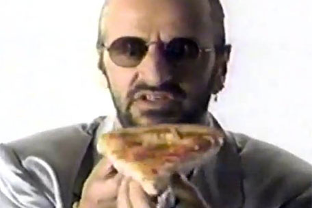 Ringo Starr Pizza Hut
