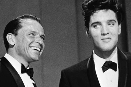 Frank Sinatra and Elvis