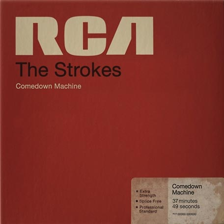 The Strokes Comedown Machine album cover