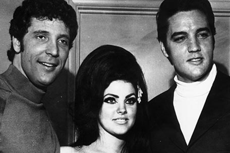 Tom Jones, Priscilla Presley and Elvis
