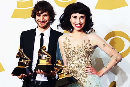 Gotye and Kimbra Win Record of the Year Grammy Award