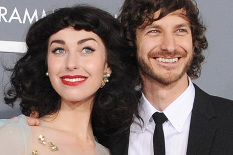 Gotye and Kimbra at the Grammys