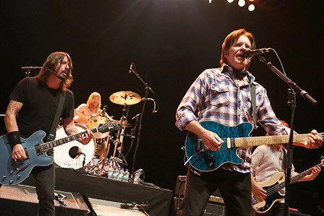 Dave Grohl and John Fogerty
