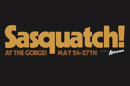 sasquatch music festival washington the gorge 2013 lineup