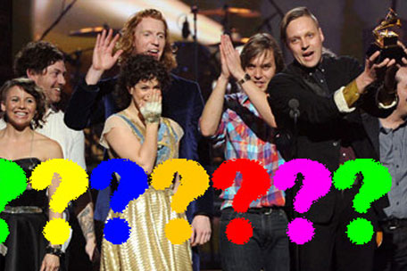 Who the fuck is Arcade Fire?