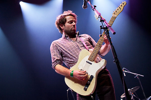 Dawes Perform at Spinner SXSW 2013 Showcase