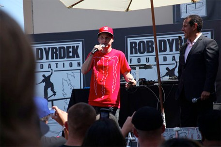 This past weekend, Rob Dyrdek held a benefit fundraiser for his foundation