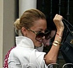 nicole richie supersized sunglasses