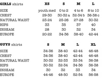 American eagle jeans size chart
