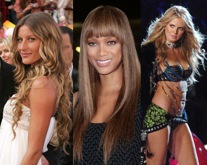 how to be a supermodel: gisele, tyra, heidi