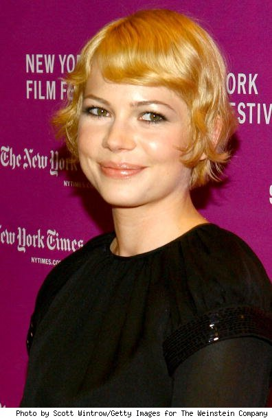 michelle williams short hair images. Michelle Williams