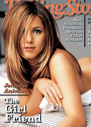 Jennifer Aniston covered Rolling Stone Magazine in 1996.