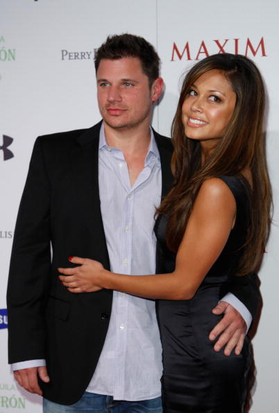 nick lachey and vanessa minnillo vacation pictures