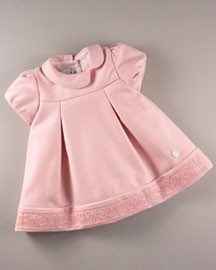 Baby Dior Pleated Dress