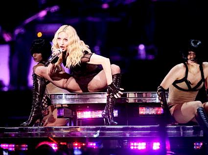 Sticky and Sweet tour - crotch shots, bad costumes and Hitler