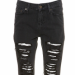 Black Ripped Jean, Topshop, $80
