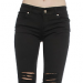 Tripp Nyc Twill Ripped Pants, $67