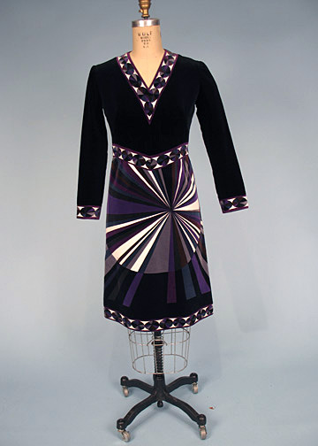 Couture Allure Vintage Fashion: Op Art Clothing - 1966