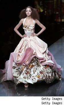 Spring/Summer 2009 Couture Shows - StyleList Fashion Blog :  formal couture gown dress
