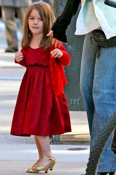 Katie Holmes High Heels on Suri Cruise Wears High Heels Katie Holmes Zimbio Imagen By Balamuda