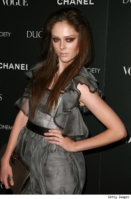 coco rocha red hair. We blame it on the Coco Chanel