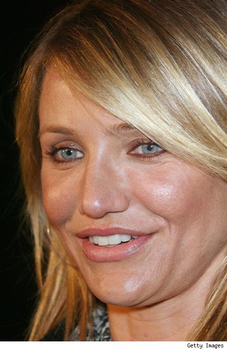 Cameron Diaz Some days they are invisible and others, it looks like you