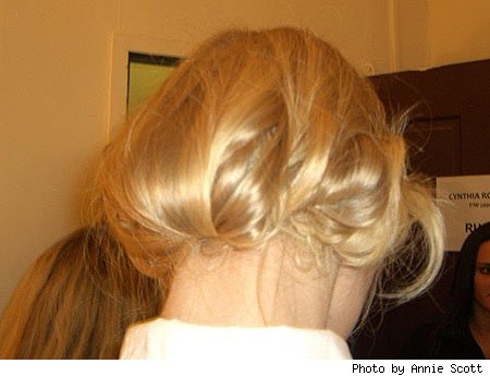 1930s hairstyles how to. Price created a 1930's Berlin look complete with fingerwaves,