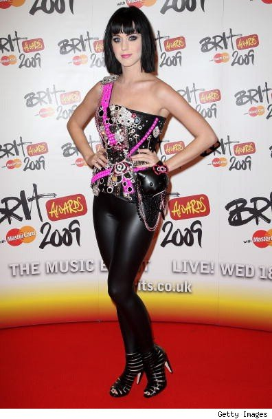 katy perry in hello kitty corset. Daring fashion darling Katy Perry hit the