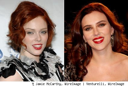 coco rocha red hair. Coco Rocha (at last night#39;s