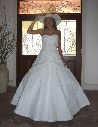 vera wang wedding dresses 2009. It wasn#39;t Vera Wang.