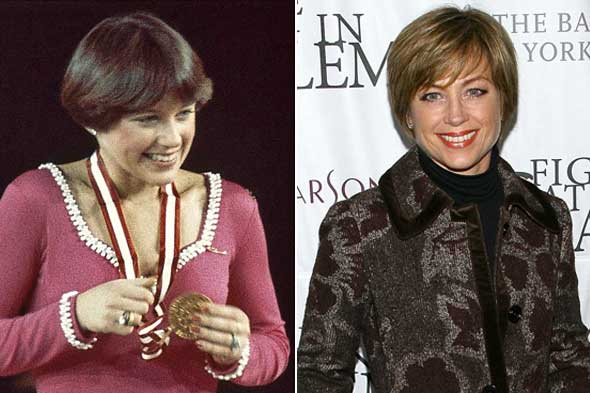 I loved Dorothy Hamill, and I totally rocked the bowl haircut.