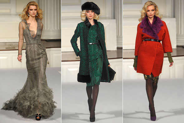 Oscar de la Renta, New York Fashion Week autumn/winter 2010